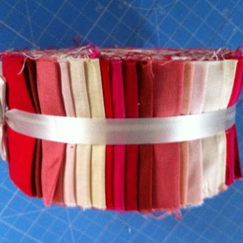 Strippers Jelly roll Strawberry and Cream 2.8 yrds