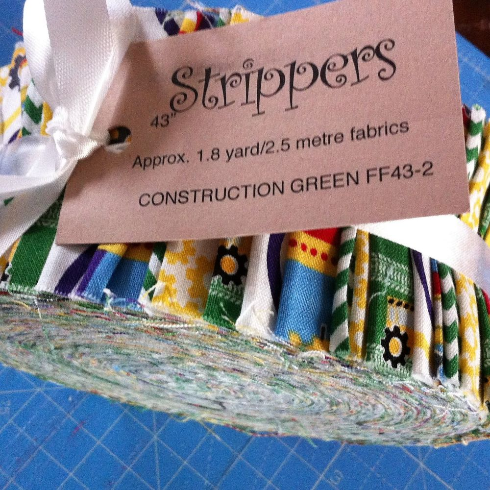 Strippers Jelly roll Construction Green 2.8 yrds
