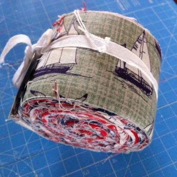 The Craft Cotton co Jelly roll Nautical rose 24 strips