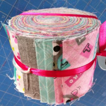 3 Wishes Fabric Jelly roll  20 strips