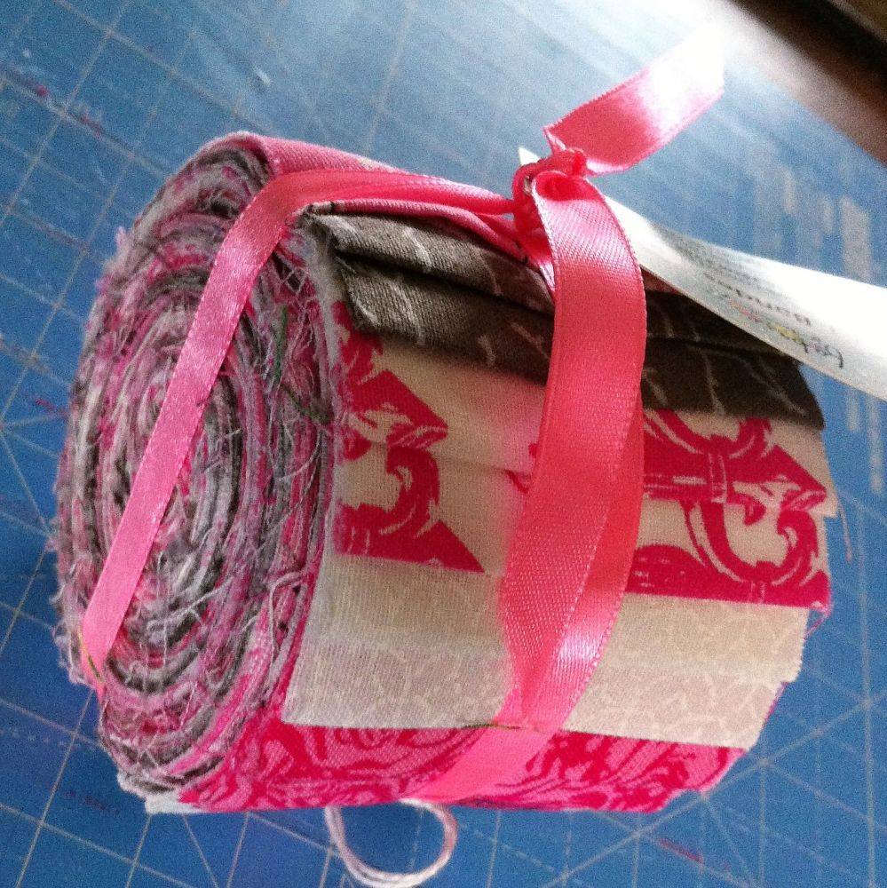 Fabric Palette Jelly roll  20 strips paris