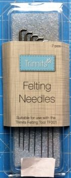 Trimits Felting needles x 7 tf004