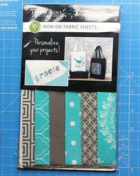Iron on fabric sheets by fabric expressions Gracie