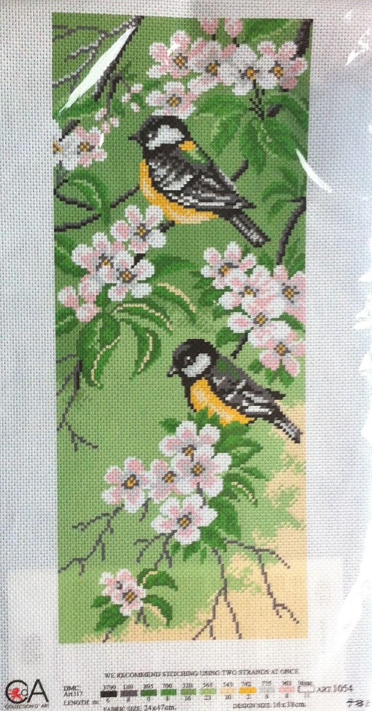 kit 1067 CDA collection D'art enbroidery Birds