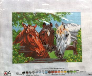 kit 1070 CDA collection D'art enbroidery horses