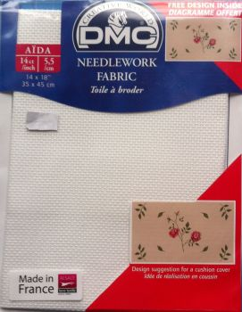 "Needlework fabric 14"" x 18"" 14ct/incch by DMC"