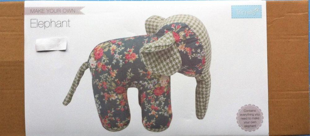 kit 3011 Trimits fabric kit elephant