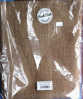 Peak dale hessian for rug making 100cm x 2mtr