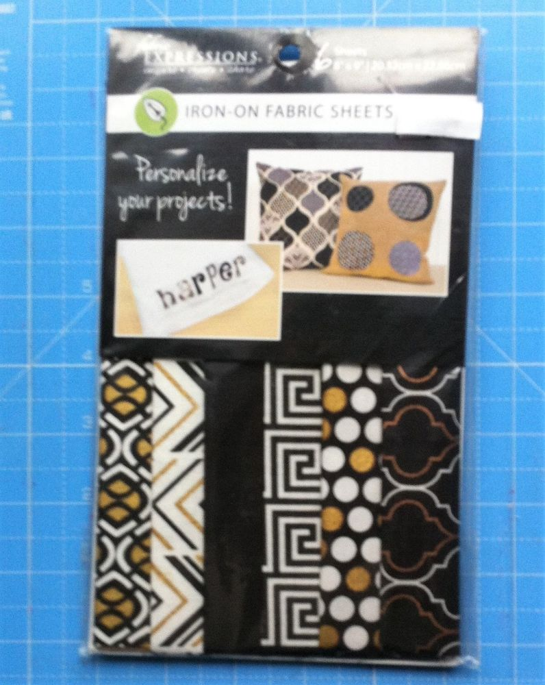 Iron on fabric sheets by fabric expressions Harper