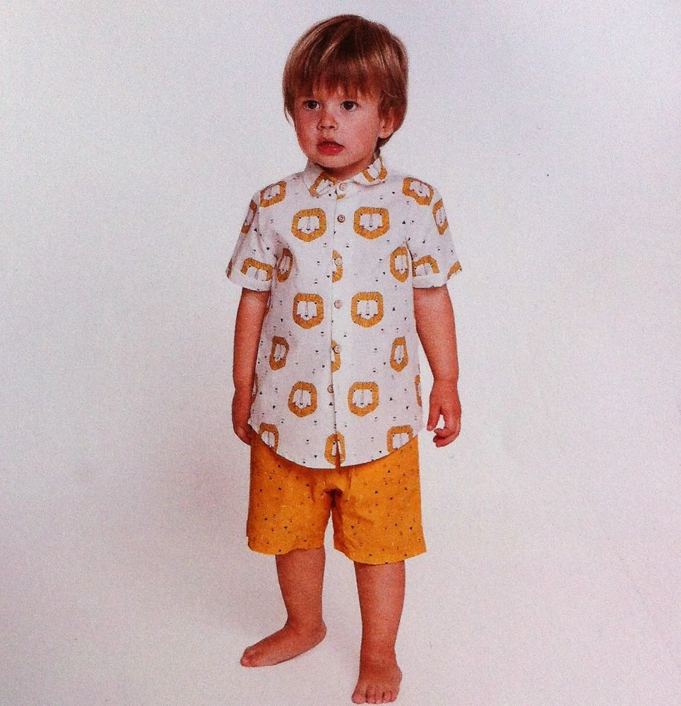 Katia L1 Sewing Pattern Short sleeve blouse