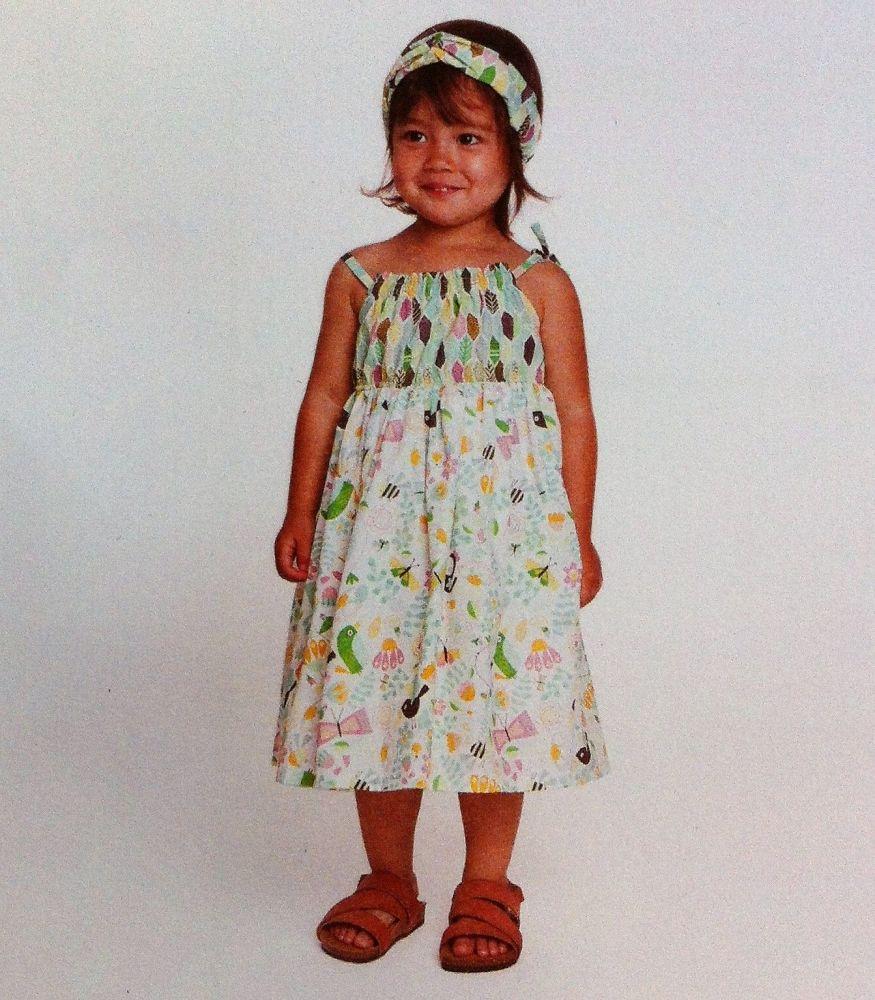 Katia L5 Sewing Pattern braces dress & turbant