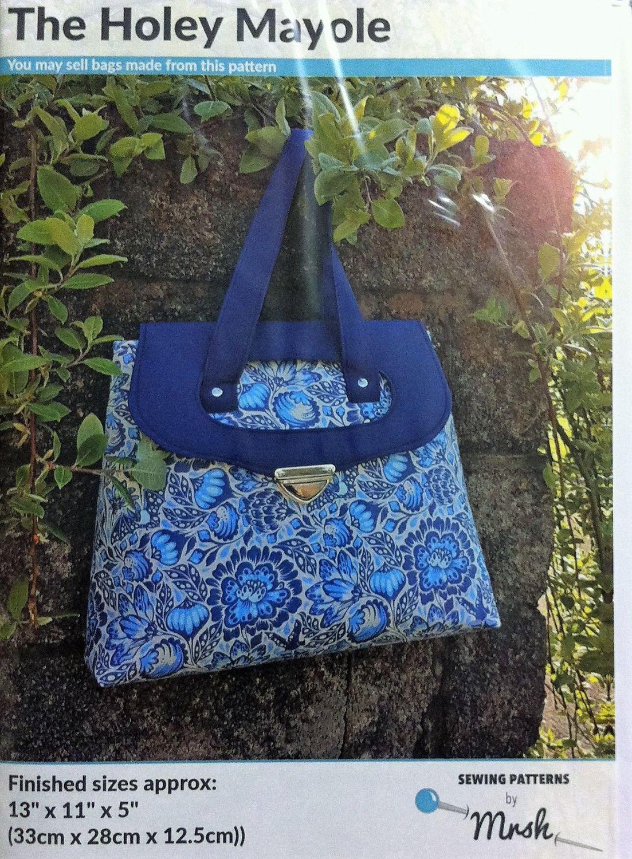Mrs H bag pattern Holey Mayole bag