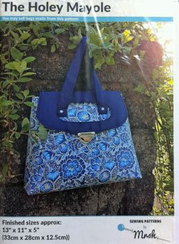 Mrs H bag pattern Holey Mayole bag