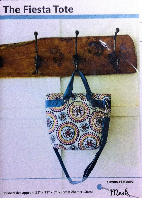 Mrs H bag pattern Fiesta Tote bag