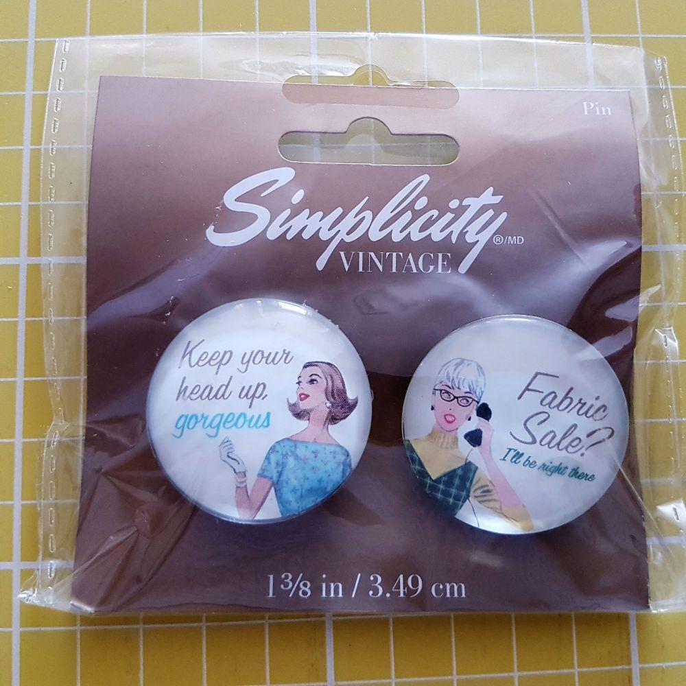 Simplicity vintage 1 3/8