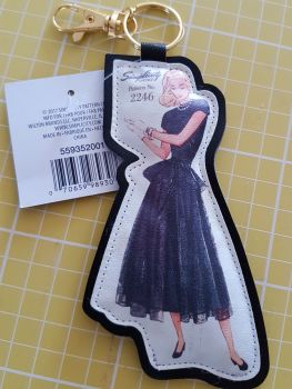Simplicity vintage bag clip 2246