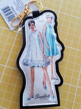 Simplicity vintage bag clip 7340