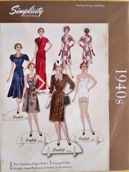 simp-vint 1940s doll kit