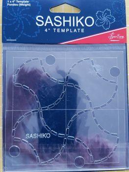 """Sashiko 4"""" Template Fondou (weight)"""