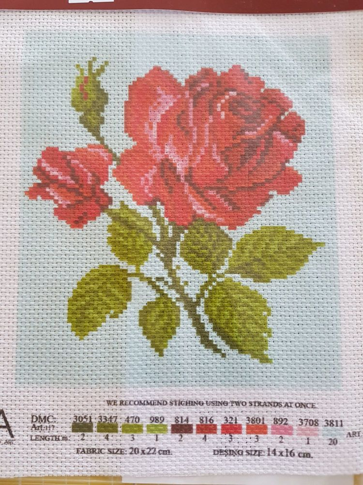 ART1062 CDA collection D'art enbroidery PA 1062