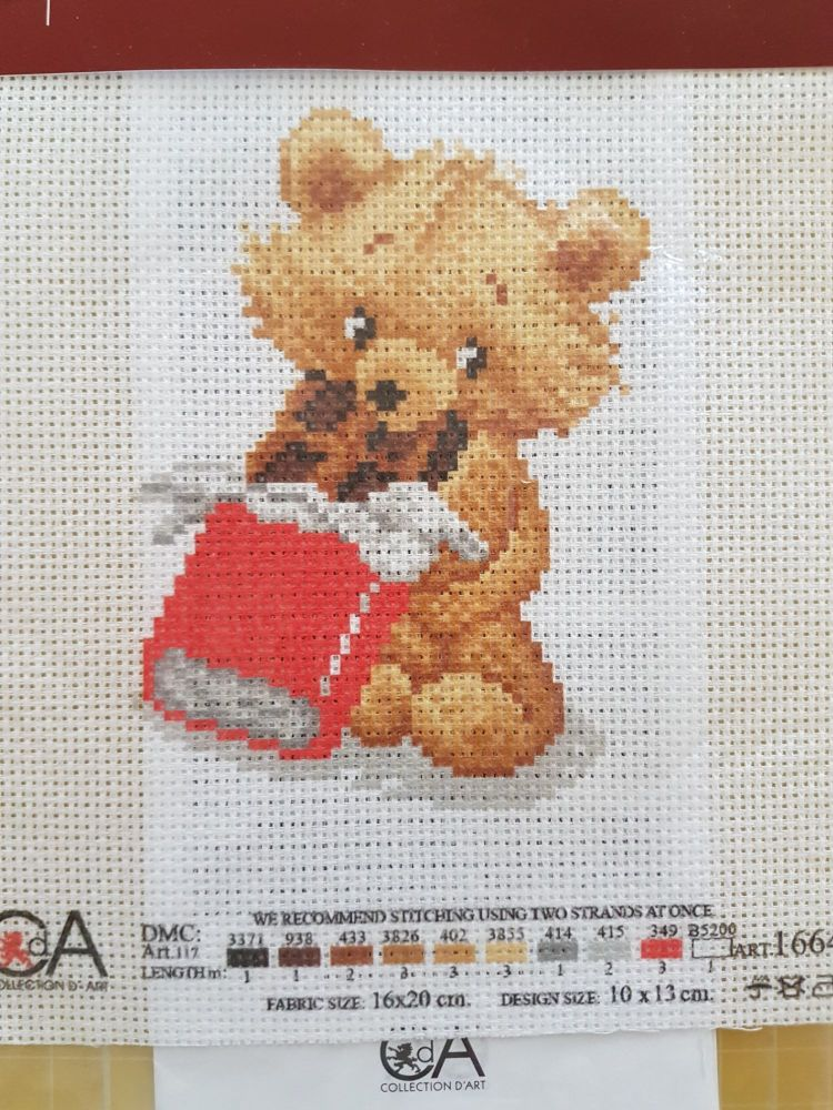 ART1664 CDA collection D'art enbroidery PA 1664