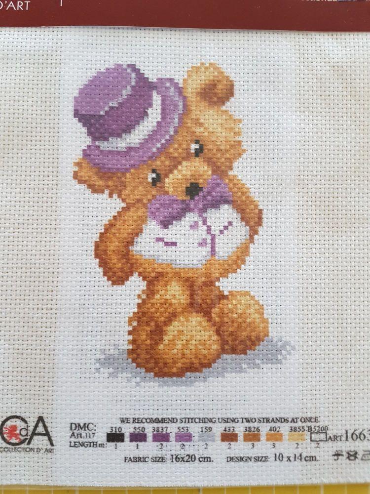 ART1663 CDA collection D'art enbroidery PA 1663