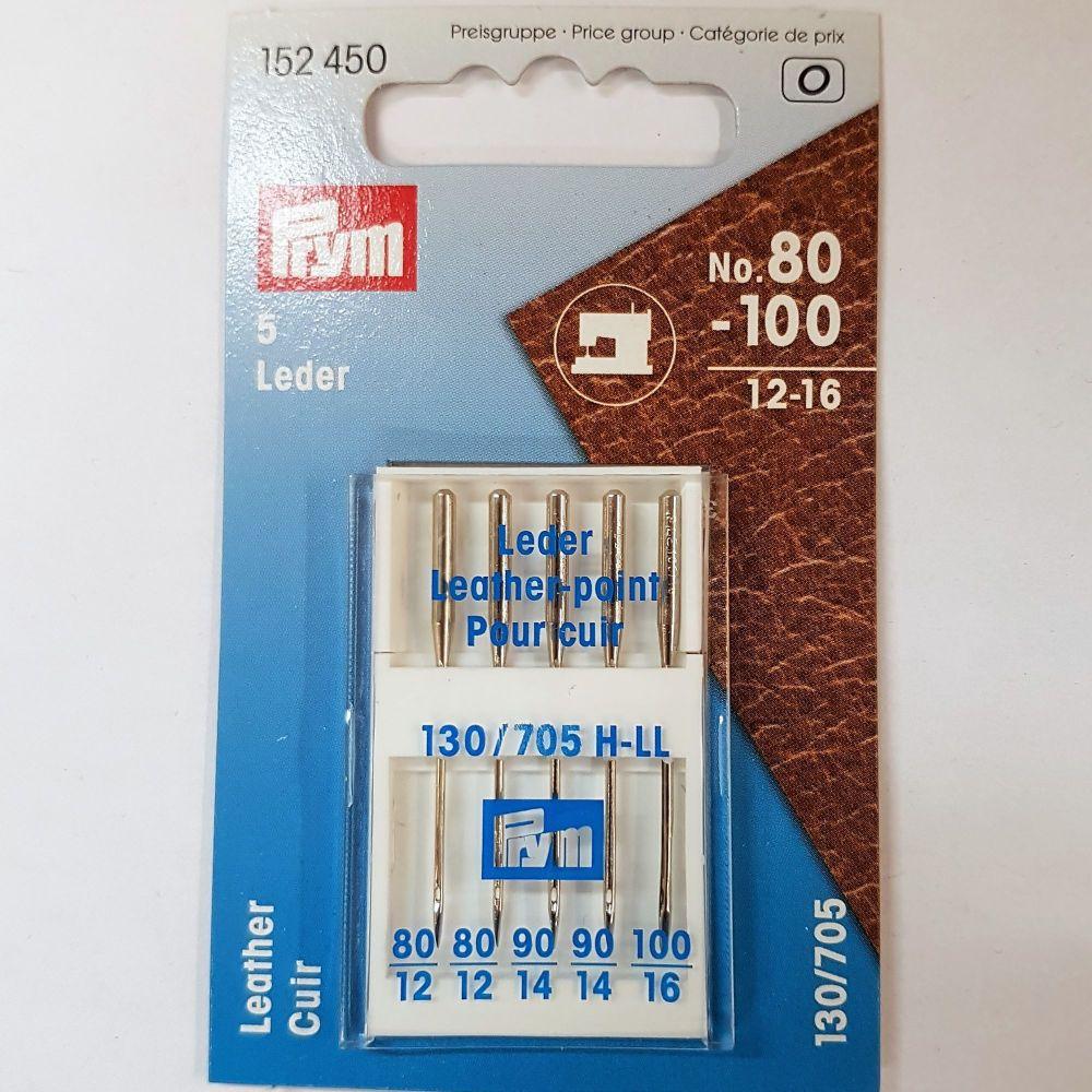 Machine needles Prym 152-450 Leder 5 pce