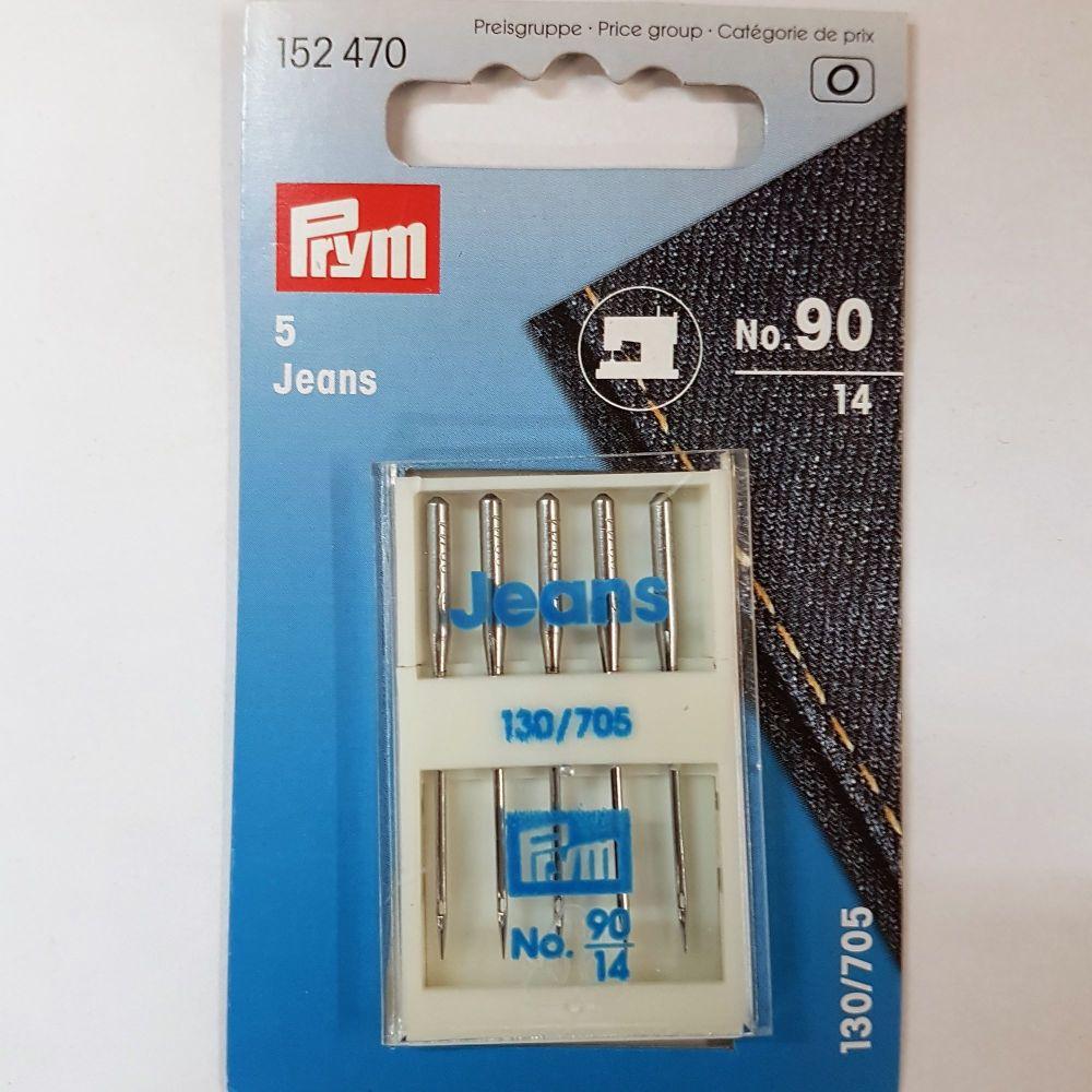 Machine needles Prym 152-470 Jeans 5 pce