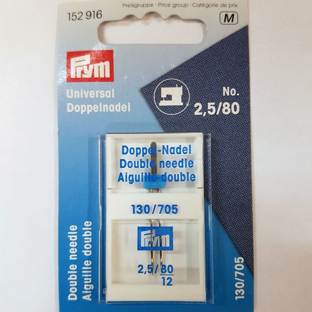 Machine needles Prym 152-916 Universal Double Needle 1 pce