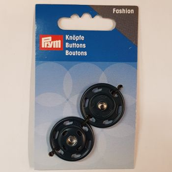 Prym 341-836 fashion button snap fastener 25mm 1 pce navy