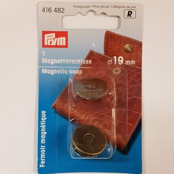 Prym 416-482 magnetic snap 19mm 1 pce