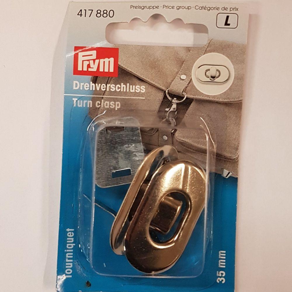 Prym 417-880 Turn clasp 35mm 1 pce