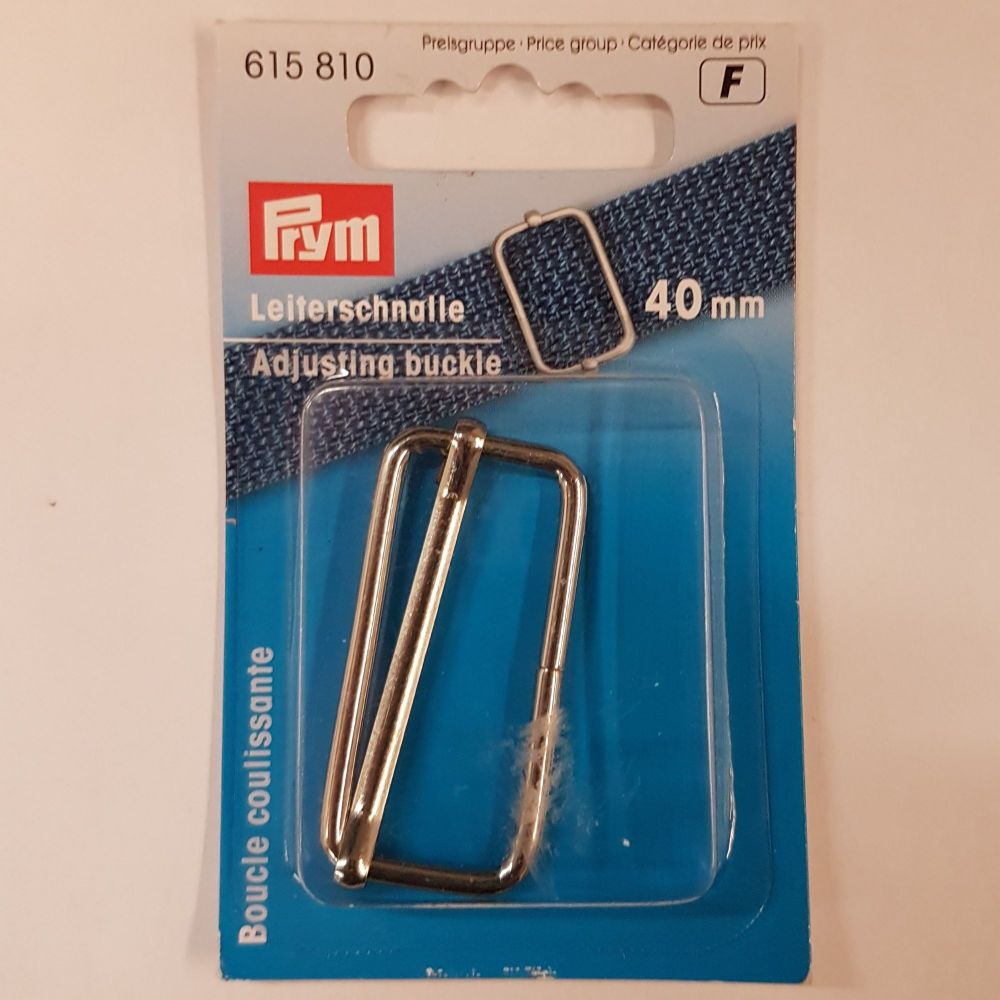 Prym 615-810 Adjusting buckle 40mm 1 pce
