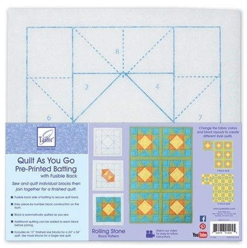 Quilt as you go & kits