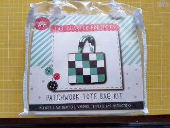 Patchwork tote bag kit