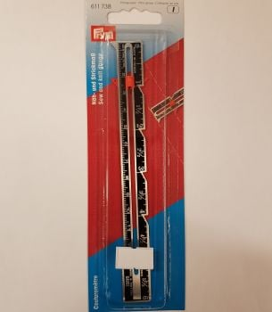 "Prym 611-738 Sew and knit gauge 6"" / 12.5cm"