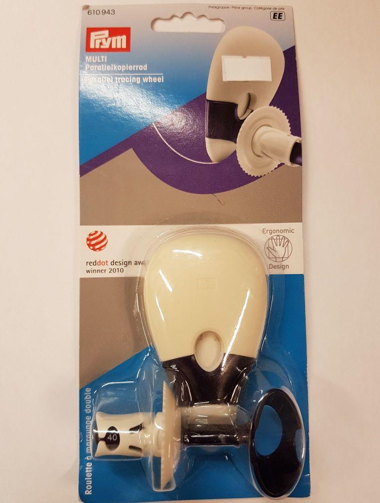 Prym 610-943 ergonomic Parallel Tracing Wheel