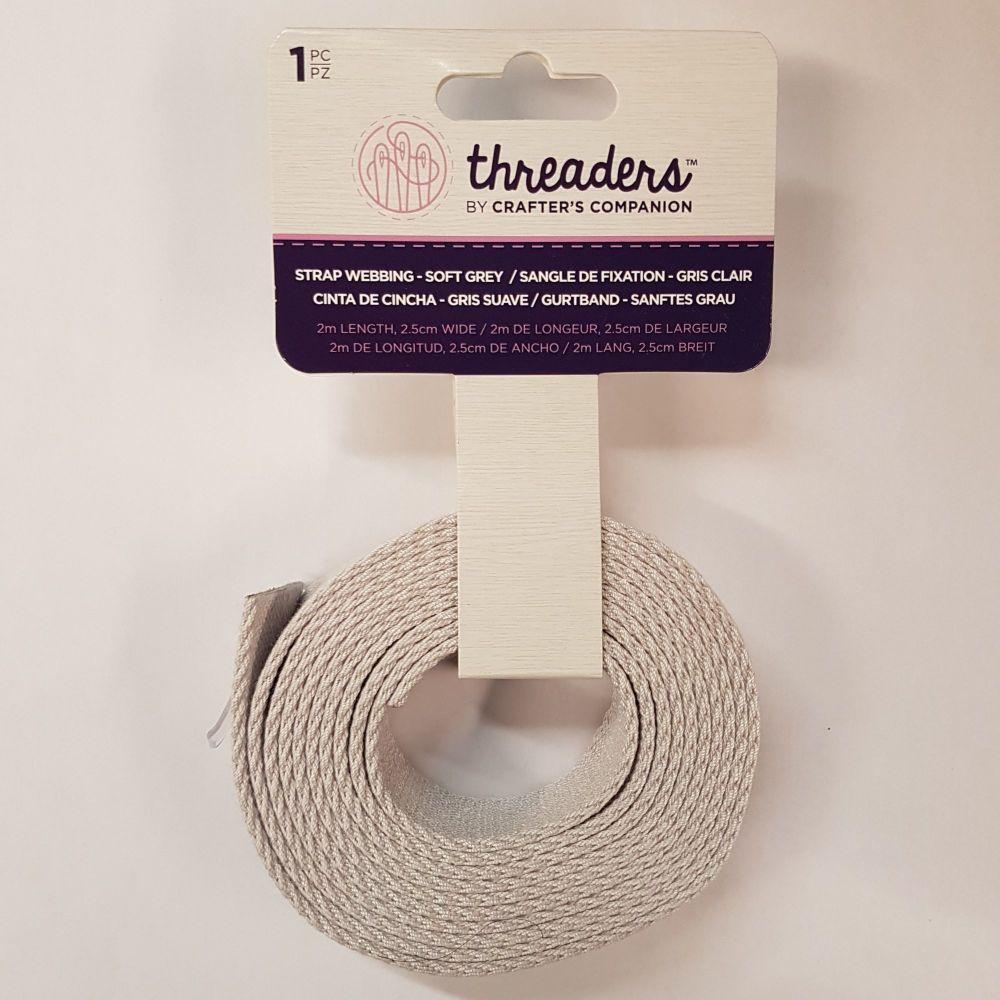 Threaders strap webbing royal blue 25mm 1