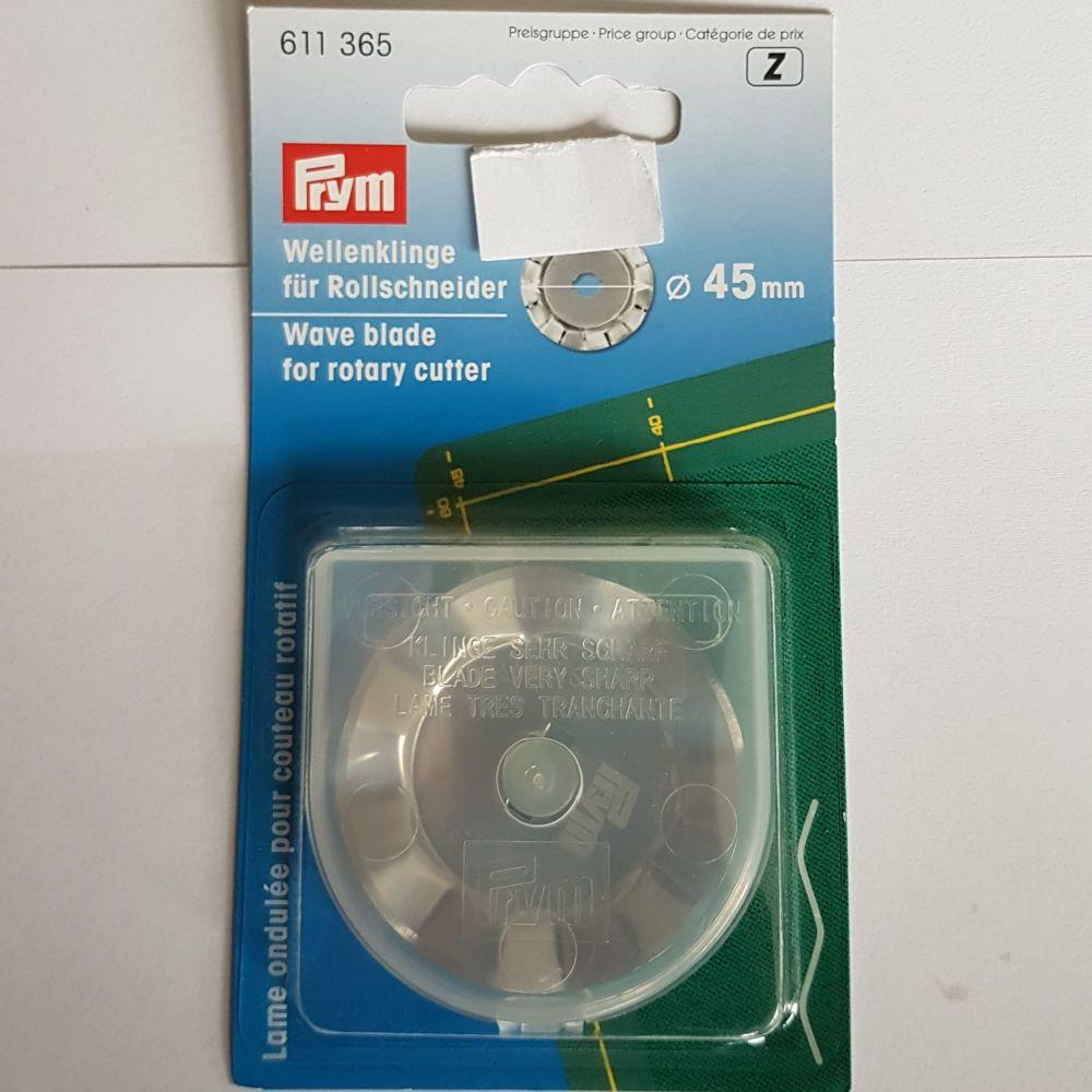 Prym 611-365 Rotory blade wave 45mm