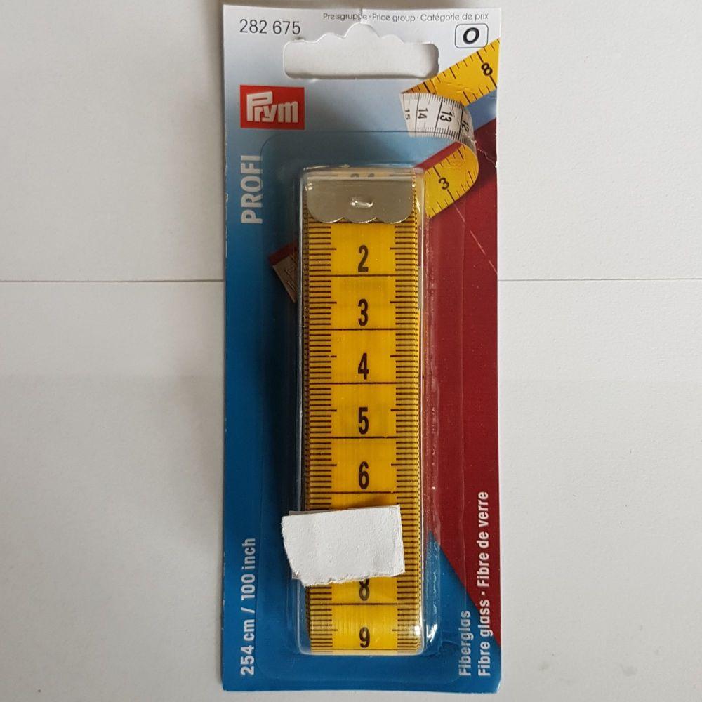 Prym 282-675 Profi Tape Measure 254cm/100 inches