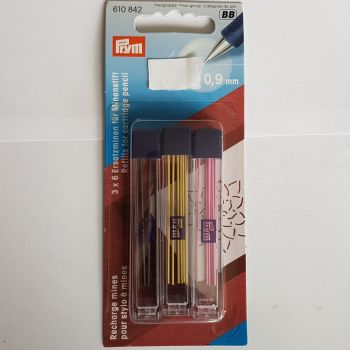 Prym 610-842 Refills for Cartridge pencil 3x6