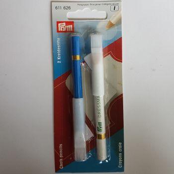 Prym 611-626 Chalk Pencils x2