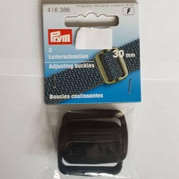 Prym 416-386 Adjustable buckle 30mm x2