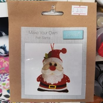 Felting kit make your own Santa by Trimits