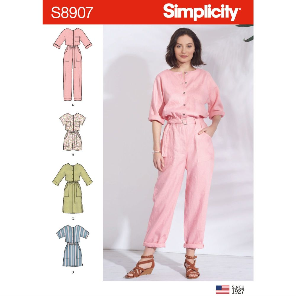 S8907 Simplicity sewing pattern