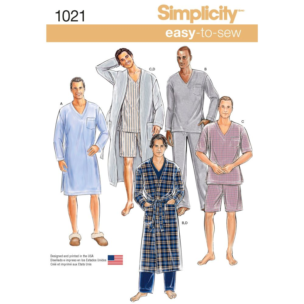 S1021 Simplicity sewing pattern