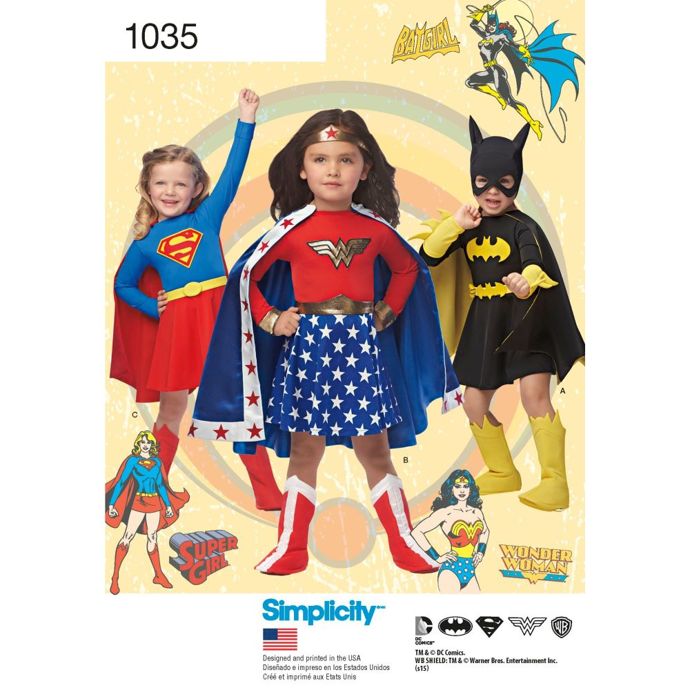 S1035 Simplicity sewing pattern