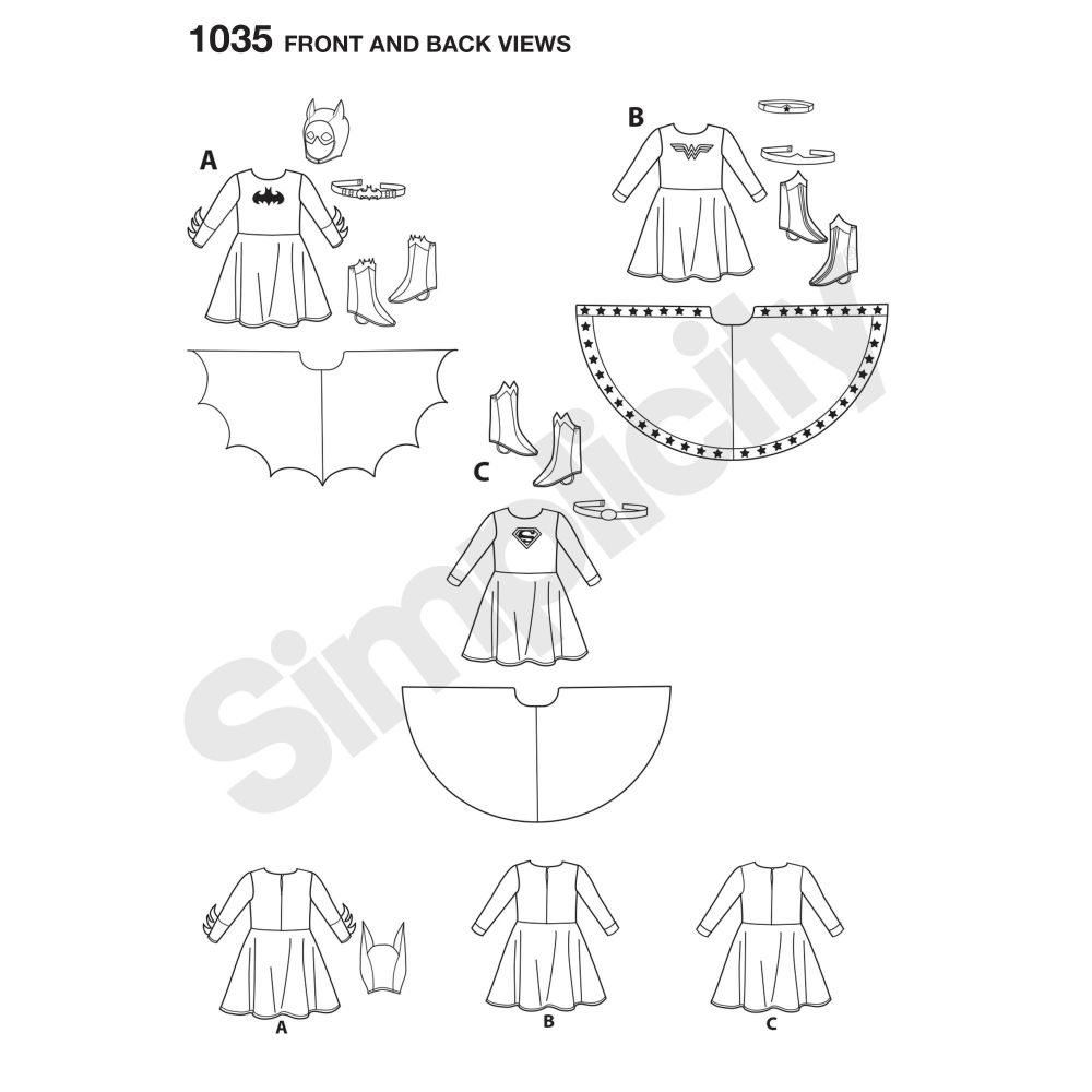 simplicity-children-pattern-1035-front-back-view