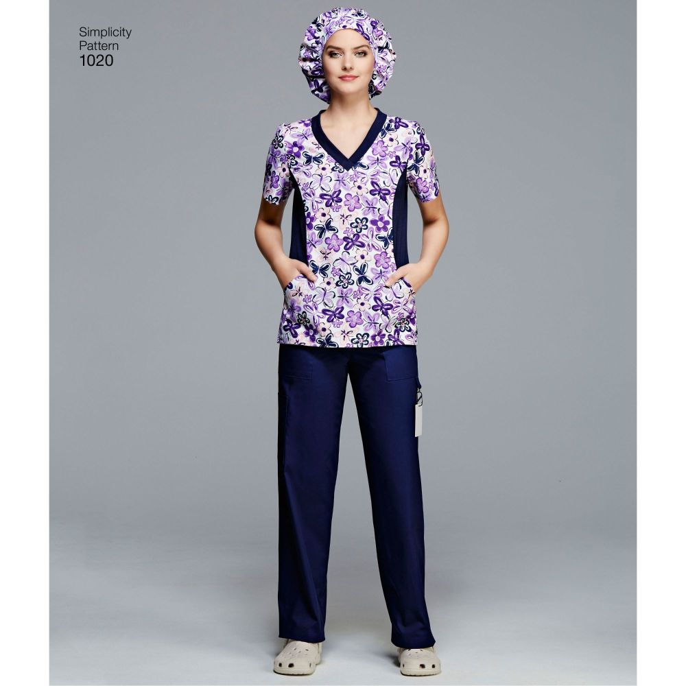 simplicity-unisex-scrubs-pattern-1020-AV1