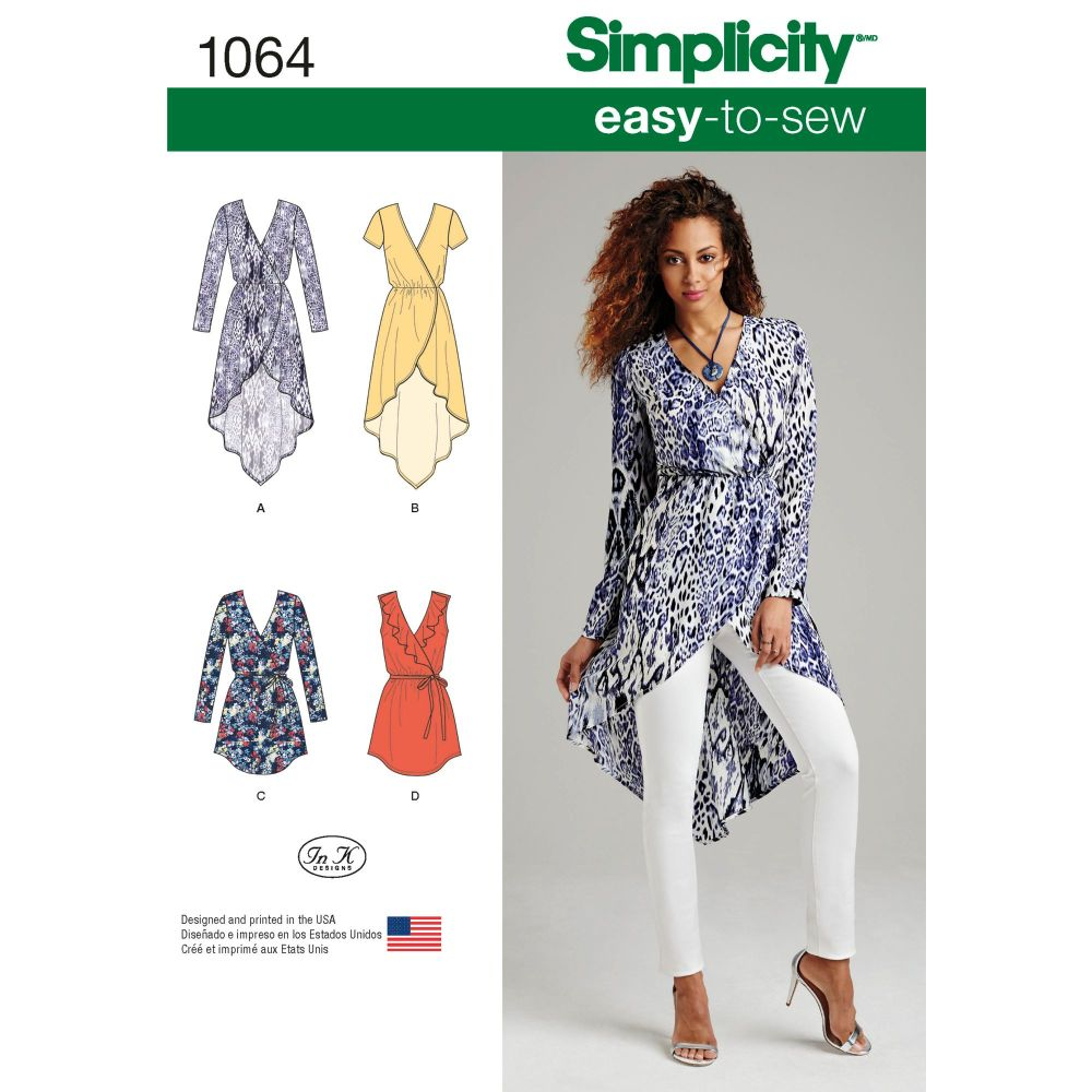 S1064 Simplicity sewing pattern H5 (6 8 10 12 14)